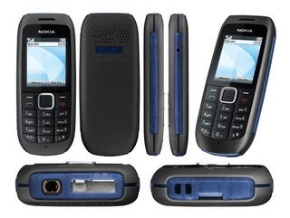 Nokia 1616-2, Novo Desbloq Anatel Rádio Lanterna Ideal Idoso