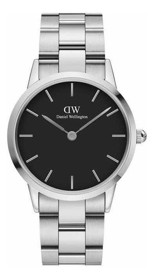 Daniel Wellington | Iconic Link 36mm ( Silver / Black )