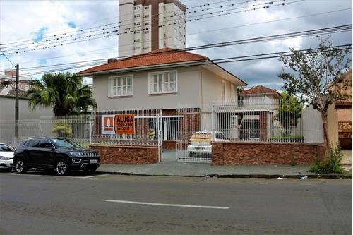 Casa Para Alugar, 444 M² - Centro - Ponta Grossa/pr - Ca0668