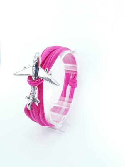 Brazalete Flat Pink Silver - Remove Before Flight®