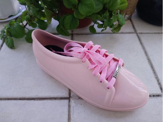 Zapatillas Impermeables Para Lluvia De Dama