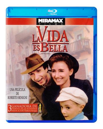 La Vida Es Bella Roberto Benigni Pelicula Blu-ray