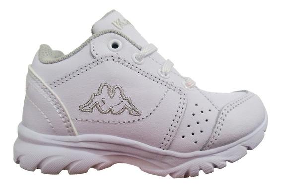 Tenis Atleticos Track White Bebe Kappa M25-ag