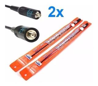 Kit 2 Antena Ht Nagoya Na-771 Sma-femea Para Ht Dual Band