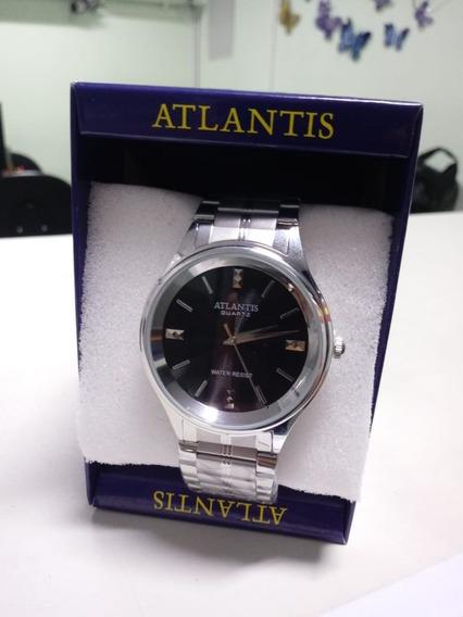 Relógio Atlantis Original - Masculino + Caixa