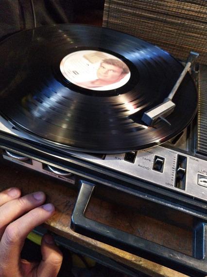 Tocadiscos Portátil Antiguo Funcionando Radio Fm Am