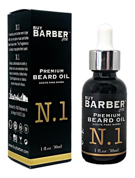 Buy Barber Aceite Para Barba Premium N1