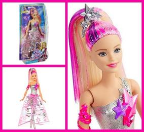Barbie Aventura Nas Estrelas Boneca Vestido Galáctico Mattel