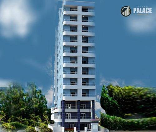Imagem 1 de 20 de Apartamento Com 2 Dormitórios À Venda, 74 M² Por R$ 365.740,00 - Caiçara - Praia Grande/sp - Ap2864