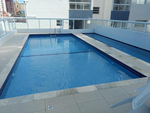 Imagem 1 de 15 de Apartamento 2 Quartos Para Venda Em Praia Grande, Tupi, 2 Dormitórios, 1 Suíte, 2 Banheiros, 1 Vaga - 405_1-1879987