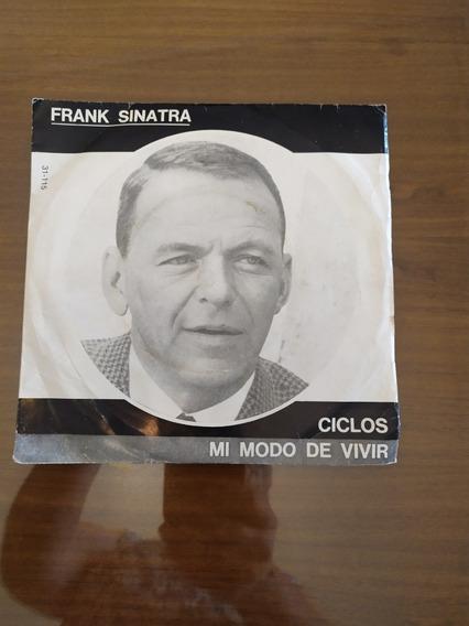 Disco De Vinilo Simple De Frank Sinatra