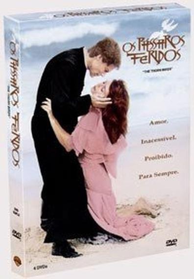 Dvd Os Pássaros Feridos - Minissérie Warner 4 Discos Origina