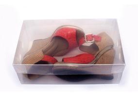 Caixa Organizadora Transparente Para Sapatos C2742