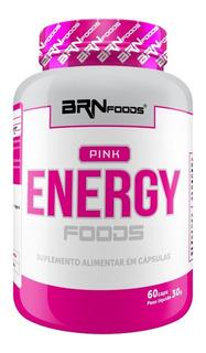 Termogênico Pink Energy Foods 60 Cápsulas Brnfoods