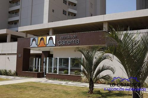Imagem 1 de 30 de Apartamento De Frente Ao Parque Cascavel 100% Sol Da Manha - Ipanema - 69587605