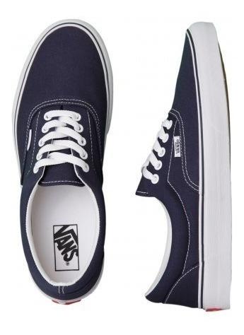 Vans Era Navy Azul Original Promocao Old Skool Authentic