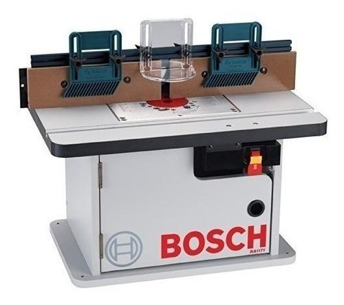 Mesa De Fresadora Bosch Ra1171 Estilo Gabinete- Envío Gratis