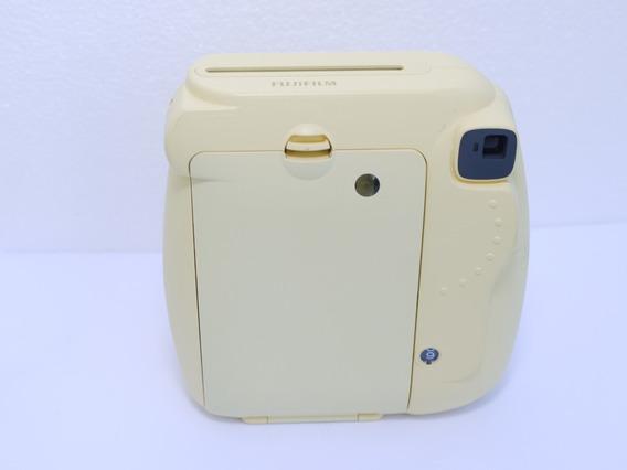 Câmera Instantânea Instax Mini 8 Fuji Amarelo = Polaroid