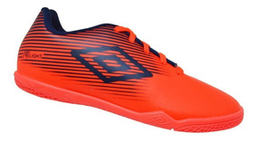 Chuteira Futsal Infantil Umbro F5 Light Jr - Coral