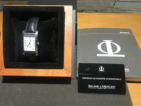 Relógio Baume Mercier Masculino Hampton + Caixa E Documentos