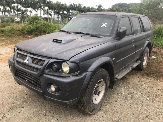 Sucata Mitsubishi Pajero Sport 2.8 Hpe 2004 Blindada