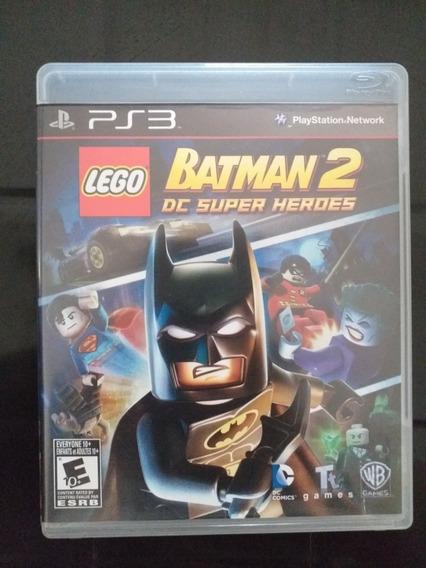 Lego Batman 2 Dc Super Heroes, Ps3, Mídia Física