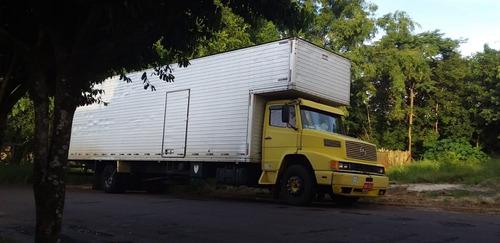 Caminhão Mercedez 12.18 Ano 93 Baú Chapeu