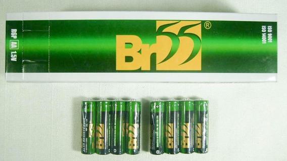Pilha Aa Br-55 Caixa Com 60 Pilhas