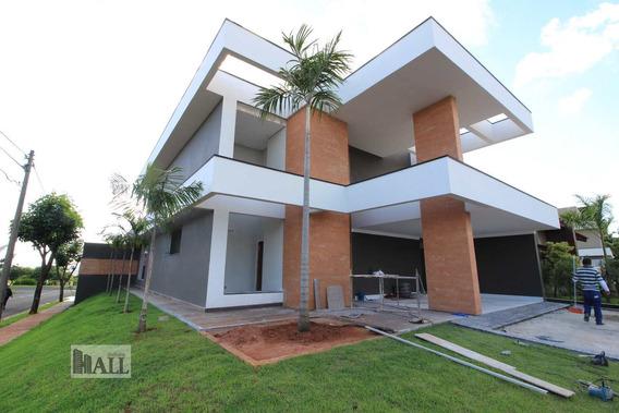 Casa De Condomínio Com 4 Dorms, Parque Residencial Damha V, São José Do Rio Preto - R$ 1.5 Mi, Cod: 5451 - V5451