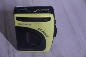 Walkman Sony La Fiesta Só Funciona O Radio Raridade