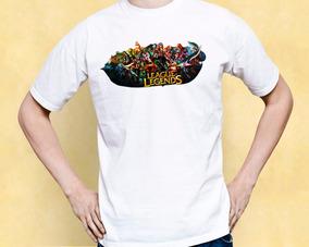 Camisa League Of Legends Lol Cam001