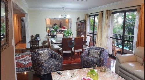 Apartamento Com 4 Dormitórios À Venda, 179 M² Por R$ 1.200.000,00 - Vila Andrade - São Paulo/sp - Ap2551