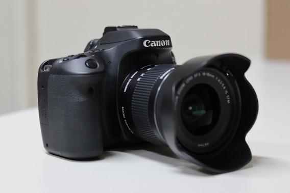 Câmera Canon Eos 80d (perfeita!)