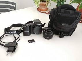 Câmera Samsung Nx2000 20.3mp + Bolsa + Cartão 16gb