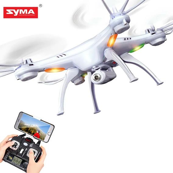 Drone Syma X5sw Com Câmera Imagem Ao Vivo Barato Promoção