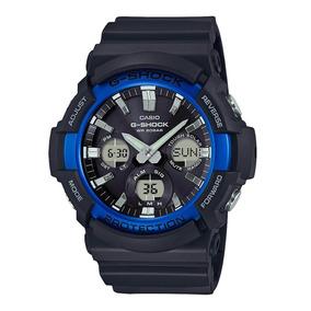Relógio Casio G-shock Gas100b-1a2 Tough Solar C/ Nota
