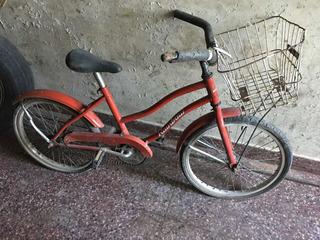 Bicicleta Playera Para Niños Con Canasto