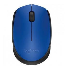 Mouse Sem Fio M170 Azul Logitech