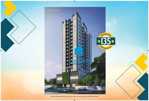 Imagem 1 de 30 de Ap2066 - Condomínio Estação 135 Apartamento Com 2 Dormitórios À Venda, 44 M² Por R$ 272.505 - Presidente Altino - Osasco/sp - Ap2066