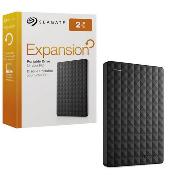 Hd 2tb Externo Seagate Expansion Usb 3.0/2.0 Pc Ps4 Xbox