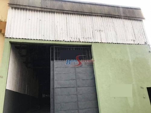 Imagem 1 de 12 de Galpão À Venda, 400 M² Por R$ 1.690.000,00 - Vila Nova York - São Paulo/sp - Ga0181