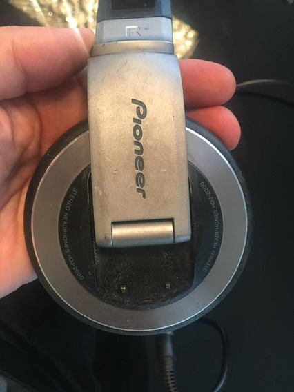 Fone Pioneer Hdj-2000 Titanium Original Qualidade !