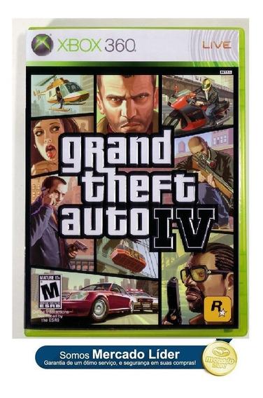 Gta Iv Gta 4 Original Para Xbox 360