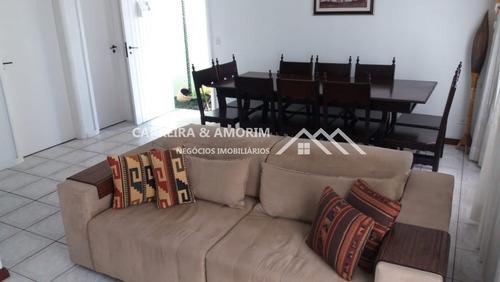 Imagem 1 de 29 de Casa A Venda Em Condomínio, 03 Dormitórios, Suíte, Sala 2 Ambiente, 4 Vagas De Garagem, Quintal. Villa Das Flores. Parque Munhoz. - Ca00070 - 34690826