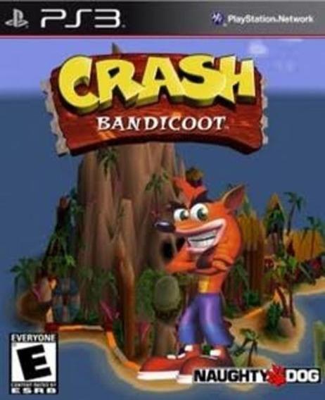Crash Bandicoot 1 (ps3) Clássico Psone Play3 Jogo Em Oferta