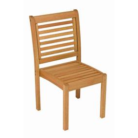 Cadeira Empilhável Madeira Maciça Milano Ipanema Gewt
