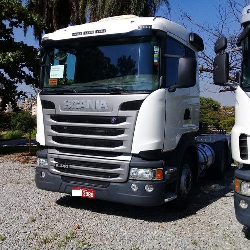 Scania 2018 R 440 6x2 Com Retarde Pouco Rodada 3988