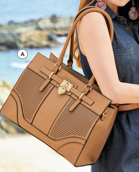 Bolsa Dama Camel 850-21 Cklass Hand Bags 1-20 J