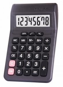 Calculadora De Mesa Truly 806a-8 8 Dígitos, Cor Pretas 806-8