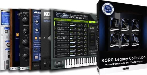 Instalação De Softwares Plugins Korg Legacy Collection